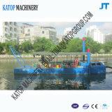 80cbm小型川の砂の吸引の浚渫船の小型カッターの吸引の浚渫船