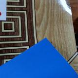 0.5mm Suelo de PVC Puro de Azul Respaldo