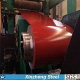 Катушка PPGI Aluzinc материала толя Prepainted стальная с популярным цветом