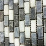 Китайцы соткут серую мозаику, плитку Emperador темную мраморный