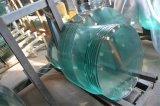 平らな正方形か円形の緩和されたガラスまたは強くされたガラス