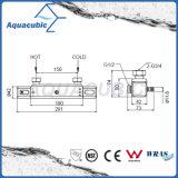 Ensemble de salle de bain thermostatique pour chauffer le robinet de douche à barre carrée (AF4316-7)