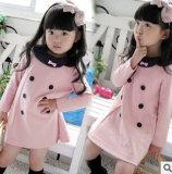 2014 enfants Vêtements Enfants Vêtements Han Edition Bowknot fille Style d'automne de nouveaux enfants jupe fille Princess jupe à manches longues