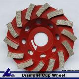 Алмазные шлифовальные чашки колеса (один)