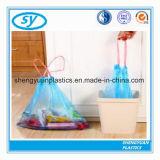 PET Plastikdrawstring-Abfall-Abfall-Beutel