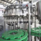 Embotelladora de agua chispeante para las botellas de cristal