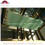 3-12mm porte en verre trempé pour réfrigérateur et plateau