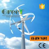 Énergie renouvelable 5kw Windmill à axe vertical avec certificat BV