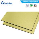 Fait dans le prix composé en aluminium de la Chine/de panneau/plaque mur extérieur