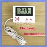 Aquarium-Thermometer-elektronischer Thermometer/elektronische Sensor-Prüfspitze des Kühlraum-Thermometer-+1m