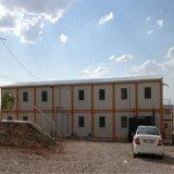 Коммерчески Pre-Проектированный дом контейнера для Трудового лагеря (KXD-SSB16)