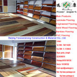 Pavimento de bambu natural e horizontal liso