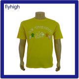 T-shirt fait sur commande de promotion des prix bon marché