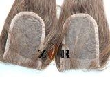 Chiusura frontale del merletto del Virgin dei capelli della chiusura superiore del merletto