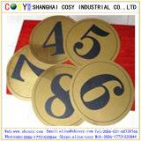 ABS avec haute carte couleur double adhésif pour la gravure de CNC