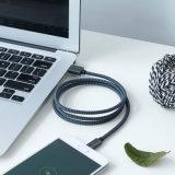 Trançado de nylon cabo USB do tipo C para os dispositivos do tipo C