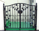 정원 아치 단철 문 디자인