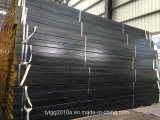 Сварные стальные черный квадрат и прямоугольник трубопроводы