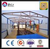 鉄骨構造の研修会のプレハブの家または鉄骨構造の倉庫または容器の家(XGZ-190)のHの中国の専門の製造