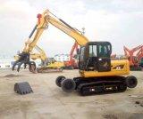 Xiniuの農業の農場のサトウキビの掘削機ローダー