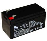 batería recargable de 6FM1.2ah VRLA para el alumbrado de seguridad