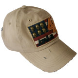 熱いニースのロゴGjwd1708の販売によって洗浄される野球帽