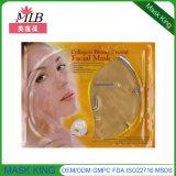 Máscara antienvejecedora del cuello de piel de los cosméticos de la escritura de la etiqueta privada del oro natural del cuidado