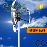 Mittellinien-Wind-Turbine Wechselstrom-Syhchronous 3kw vertikale mit Phase 3