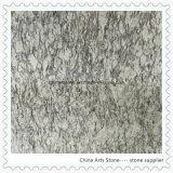 Parte superior branca da vaidade de quartzo do mármore do granito para o banheiro