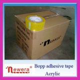 Fita amarelada adesiva forte dos produtos BOPP da embalagem da venda quente de Alibaba para a selagem e o empacotamento da caixa