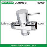 Válvula de ângulo forjado de bronze cromado ISO9001 certificada (AV3013)