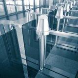 Deslizar vidro Tempered agita o controle de acesso da barreira da entrada