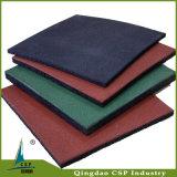 Couleurs riches du couvre-tapis en caoutchouc de SBR+EPDM pour l'étage