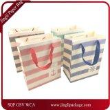 Sac de papier de achat, sacs de cadeau d'anniversaire d'usager, sac de papier, sac de papier de cadeau