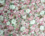 Chemical Fabric 60s Floral Printing Department Fabric for Women Clothing