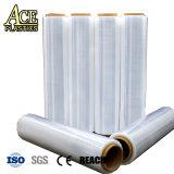 Bleu/grillé/Rose/noir/PVC transparent s'accrochent film étirable pour l'emballage