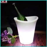 De aangepaste LEIDENE van de Emmer van het Ijs van de Fles van de Wodka Emmer van het Ijs