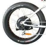 36V 500W 전기 뚱뚱한 타이어 자전거 바닷가 함 E 자전거