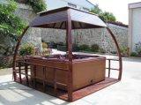 Gazebo poco costoso della STAZIONE TERMALE esterna usato giardino della vasca calda (SR881)