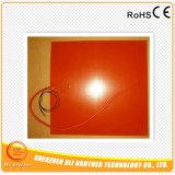 120V 100W 380*380*1.5mm Verwarmer van de Printer van het Silicone de Rubber 3D