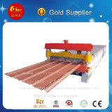 Machine de fabrication de carreaux de toit