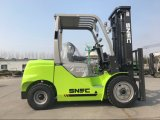 New 3.5t Capacity Hydraulic Forklifter Diesel Forklifts
