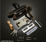 자물쇠, 실내 자물쇠, 문에 박은 자물쇠, Ms1001