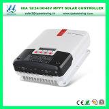 60A LCDの表示制御装置12/24/36/48V自動MPPTの太陽コントローラ(QW-ML4860A)