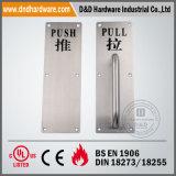 Tirare Push Handle con Back Plate