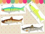 Attrait de pêche de bande - amorce artificielle d'attrait - attrait 3ms-Shad&3.5ms-Shad