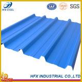 Colorare il piatto d'acciaio del tetto ondulato del metallo