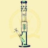 Nouveau design de haute qualité en verre borosilicaté Handblown tube droit percolateur animale Tall bol en verre de couleur de l'artisanat pour le verre de l'eau de l'inventaire de cendrier Pip