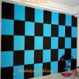 Plafond Acoustique Panneau Acoustique 500 * 500 * 50mm pour Panneau Murale Absorption Sonore