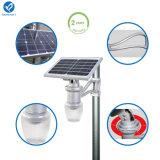 9Wリチウムイオン電池の安い価格の太陽庭の照明器具